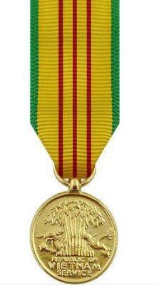 Vietnam Service Miniature Medal