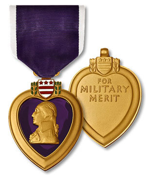 Purple Heart Medal (Coast Guard, Marine Corps, Navy)