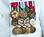 full size air force medals