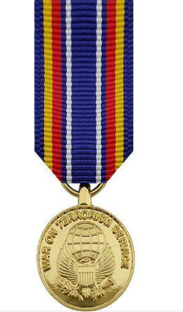 Global War on Terrorism Sevice Miniature Medal