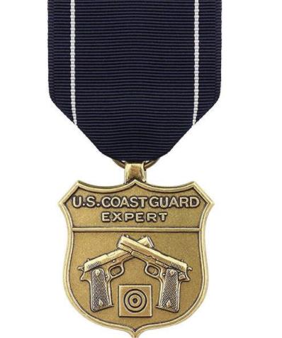 Coast Guard Expert Pistol Shot Medal