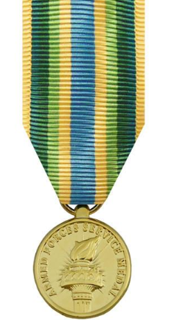 Armed Forces Service Miniature Medal