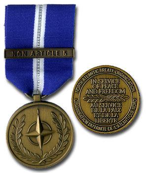 Non Article 5 NATO Medal