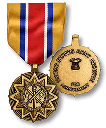 Army Reserve Components Achievement Meda