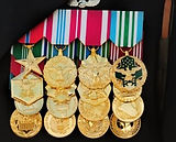 Coat Guard Medals Full Size