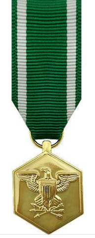 Navy and Marine Corps Commendation Miniature Medal
