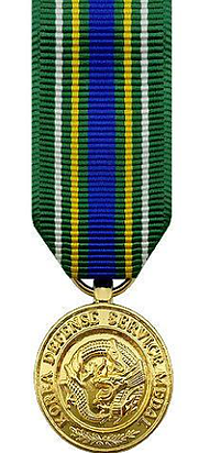 Korean Defense Service Miniature Medal