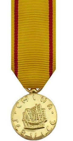 China Service Miniature Medal