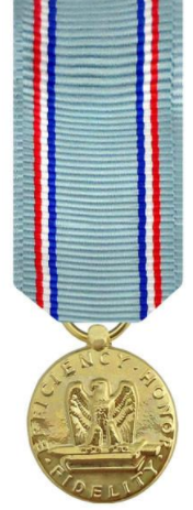 Air Force Good Conduct Miniature Medal