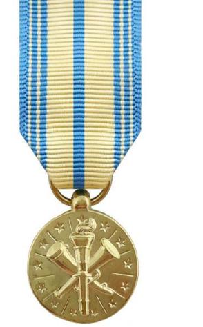 Armed Forces Reserve Miniature Medal (USN, USMC, USAF, USCG)