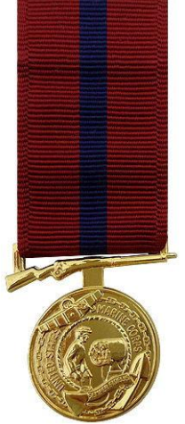 Marine Corps Good Conduct Miniature Medal