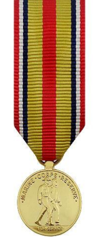 Selected Marine Corps Reserve Miniature Medal
