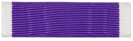 Purple Heart Ribbon (Coast Guard, Marine Corps, Navy)