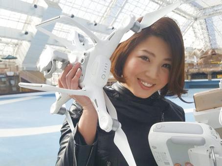 2021年2月4日 ドローンママが徳島にやって来ます。