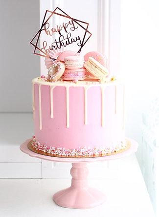 Drip Cake Pink