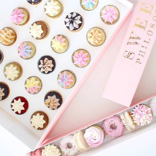 Party Pack 24 Mini Cupcakes