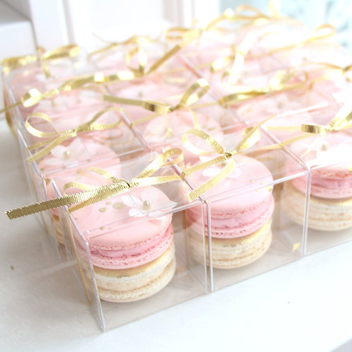 Party Favor Boxed Macarons