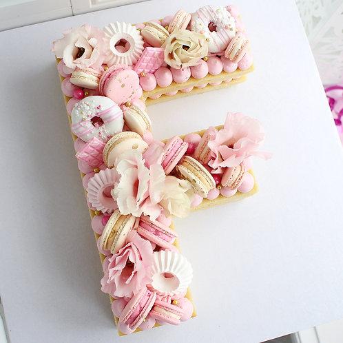 Letter/Number Cake - Single