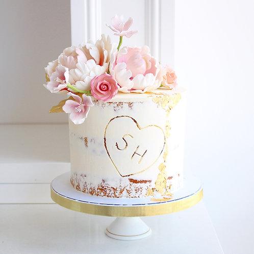Love Blooms Cake