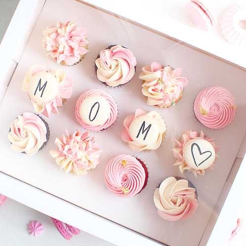 Floral Mini Cupcakes