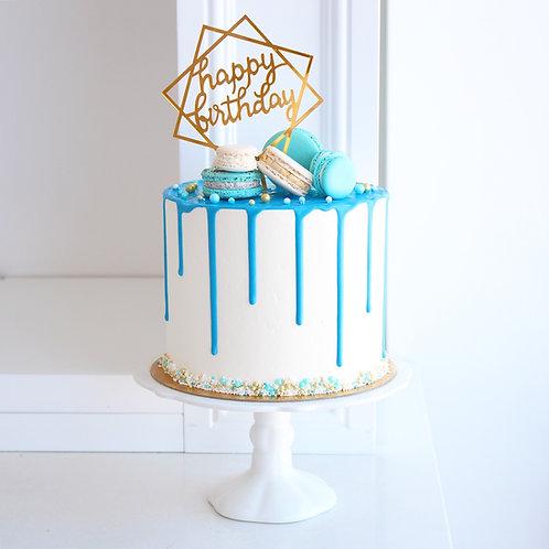Drip Cake - Blue