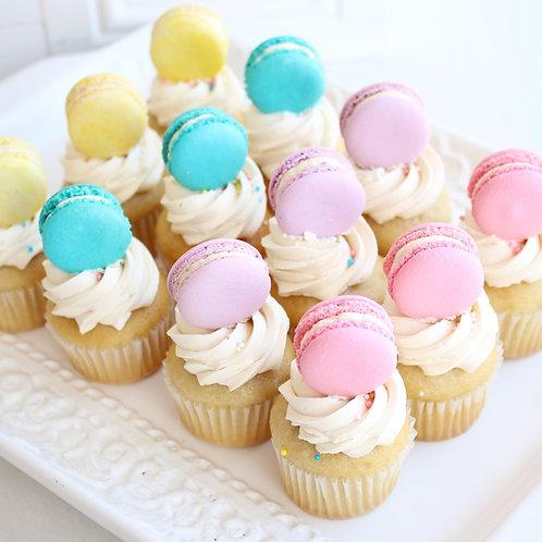 Macaron Mini Cupcakes
