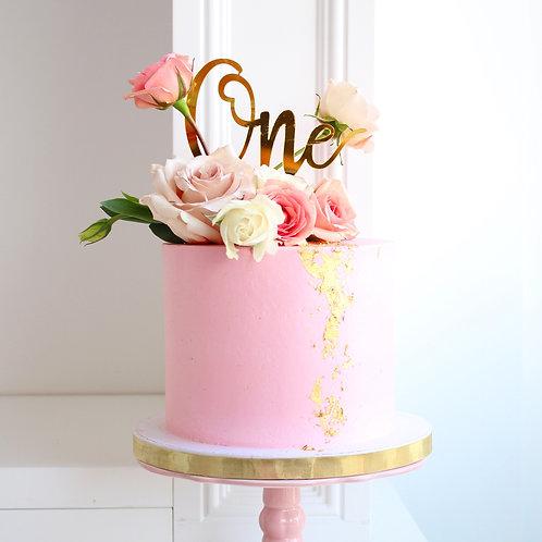 Turning One Cake