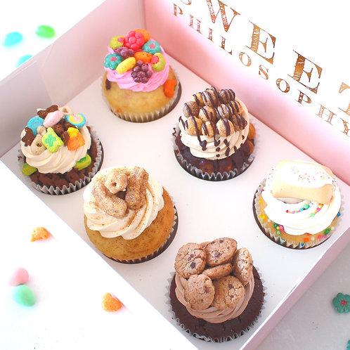 Spring Pack 6 Cupcakes