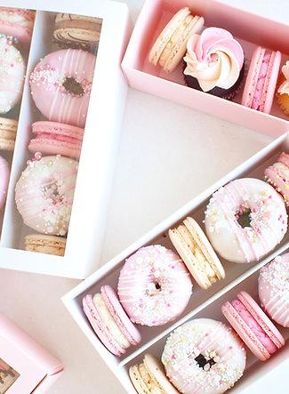 Donuts + Macarons Box
