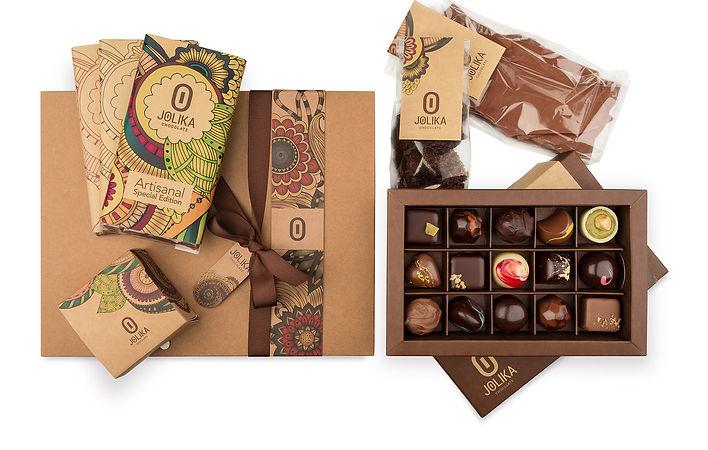 מארז שוקולד ג׳וליקה