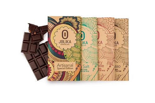 טבליות שוקולד ארטיזנל