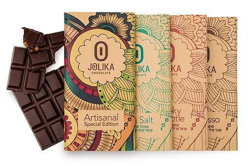 טבליות שוקולד ג׳וליקה