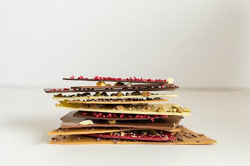 דפי שוקולד דקיקים