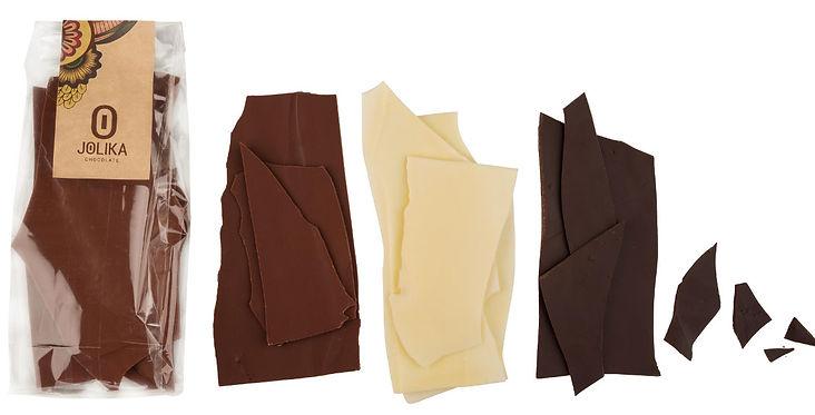 דפי שוקולד דקים ג׳וליקה