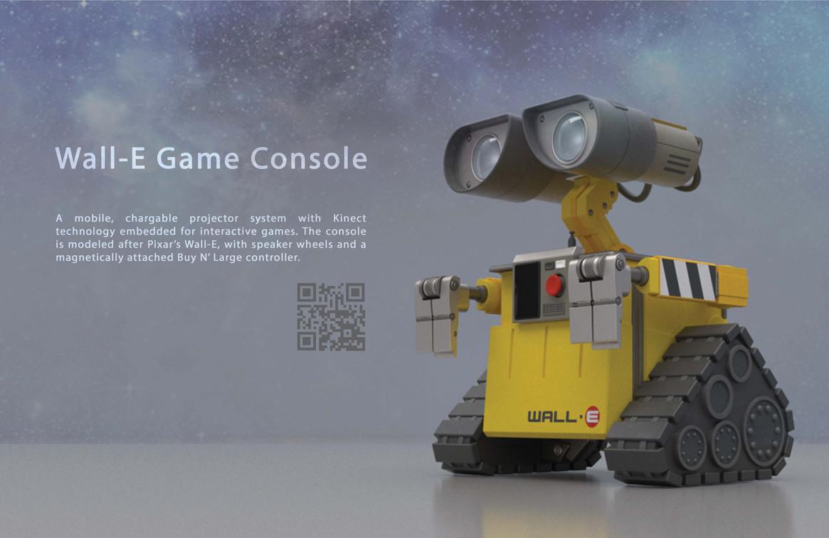 Wall-E Game Console