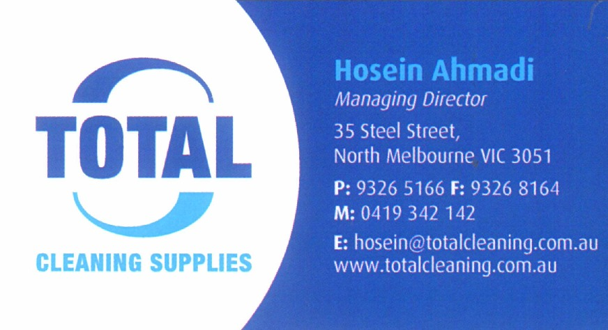 Hosein Ahmadi from Total Cleaning