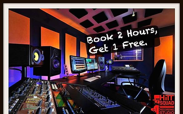 recording at Hitt Squad Studio