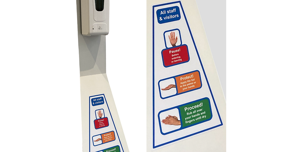 Automatic Hand sanitising station