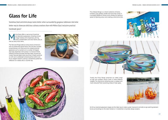 Mdina Glass 'Index' magazine