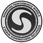 signature wheel white logo