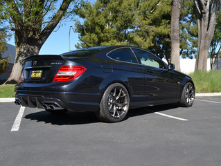2010 Mercedes C63 Coupe AMG
