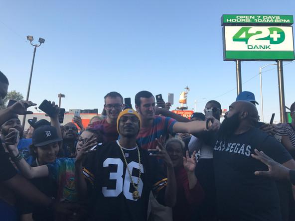 Snoop Dogg at 420 Dank Detroit