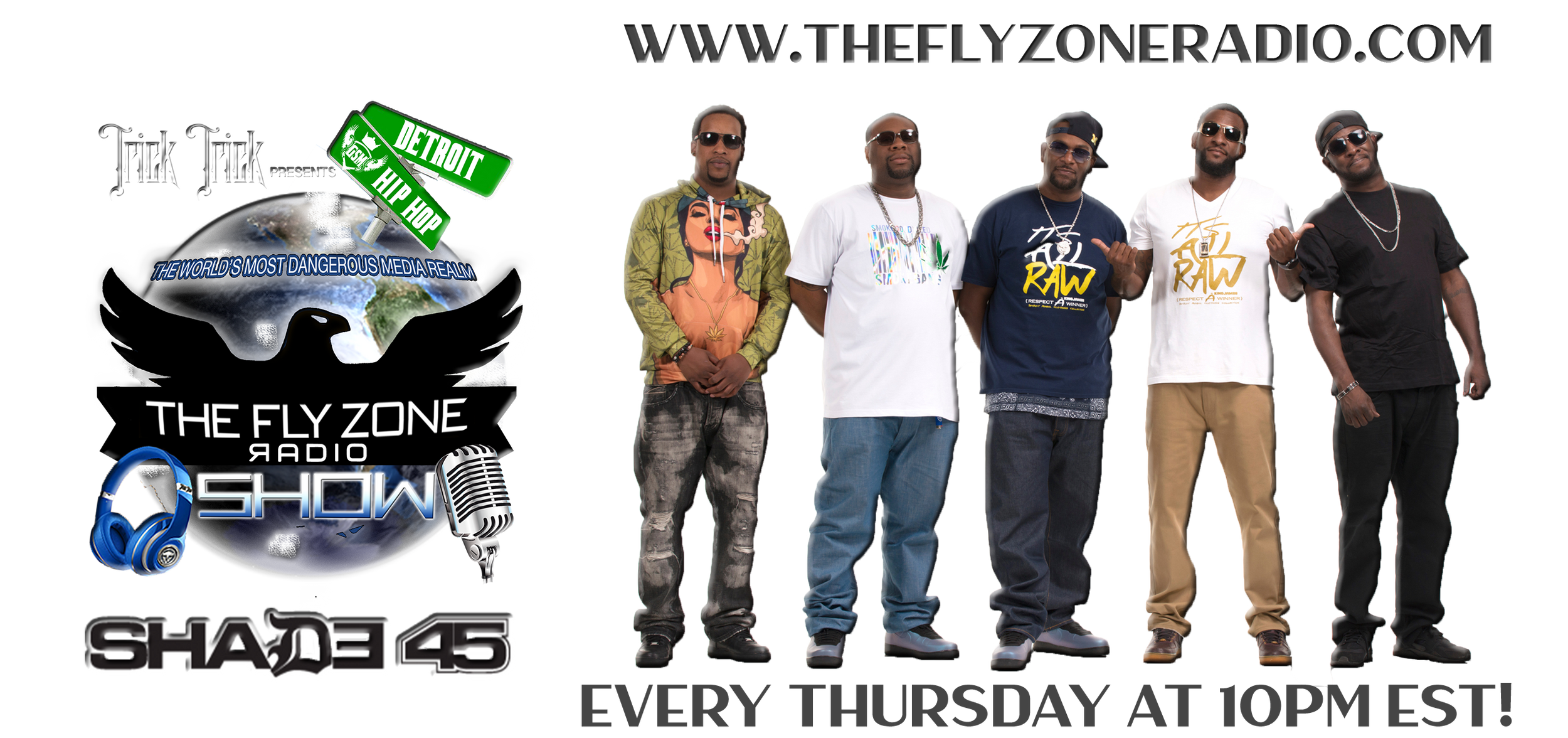 PERMISSION TO ENTER THE FLY ZONE RADIO DOT COM |DETROIT| TRICK TRICK|