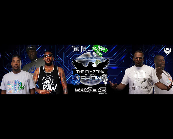 THE FLY ZONE RADIO SHOW BANNER
