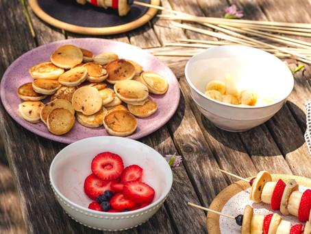 Pancake Skewers   The Best Vegan Pancakes