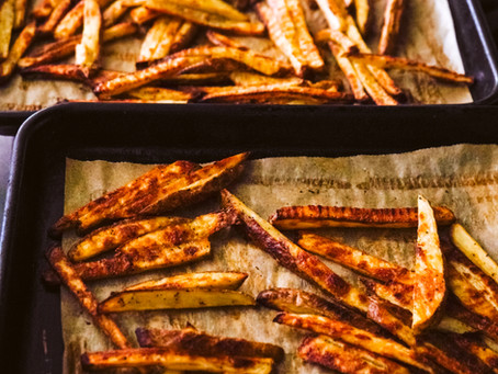 The Best Oven-Baked Fries | FORKPRINT RECIPES