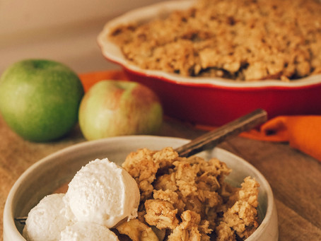 The Best Vegan Apple Crumble