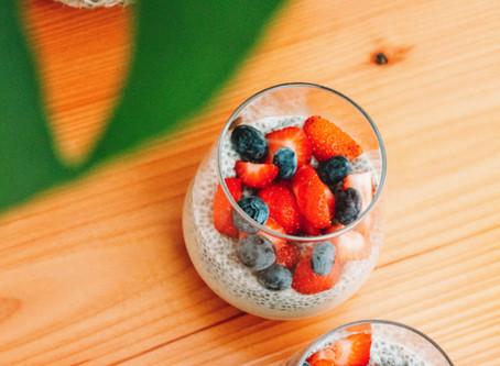 Vanilla Chia Smoothie Cups | RECIPE