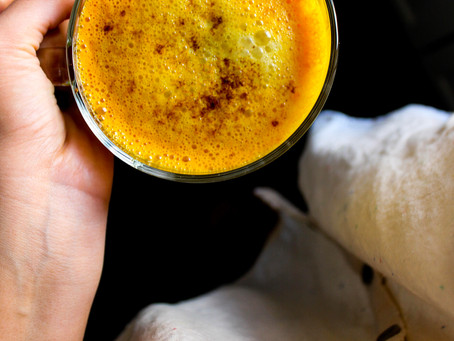 Fiery FALL Golden Milk Latte | RECIPE