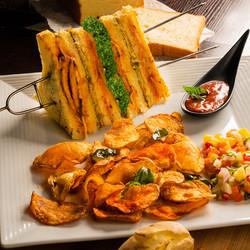 British Raj Club Sandwich